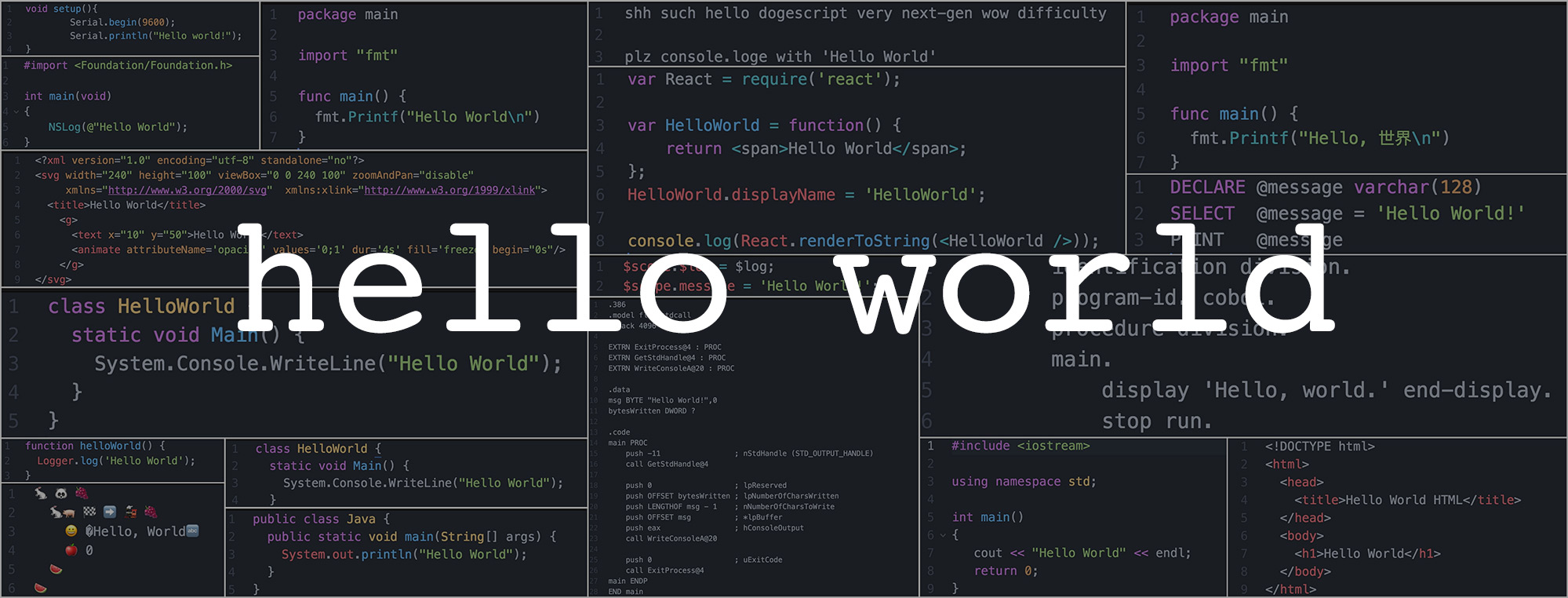 'Hello, World!' — Does your first programming language matter?